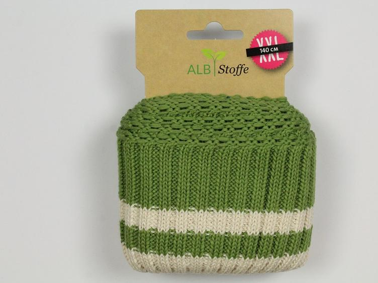 Cuff Me Cozy olive gesteift