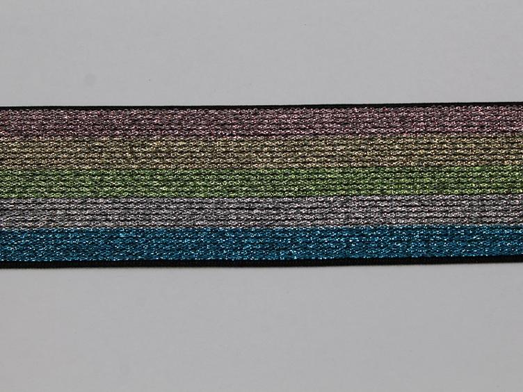 Elastic-Band multi glitzer 40 mm