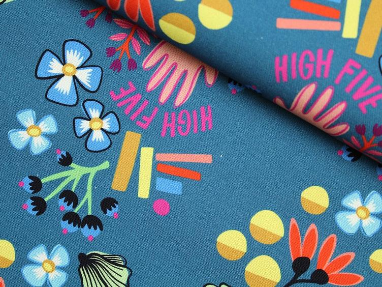 High Five - High Five blauen Canvas Hamburger Liebe