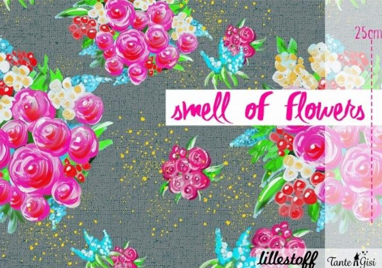Home Smell Of flowers, Jersey Lillestoff