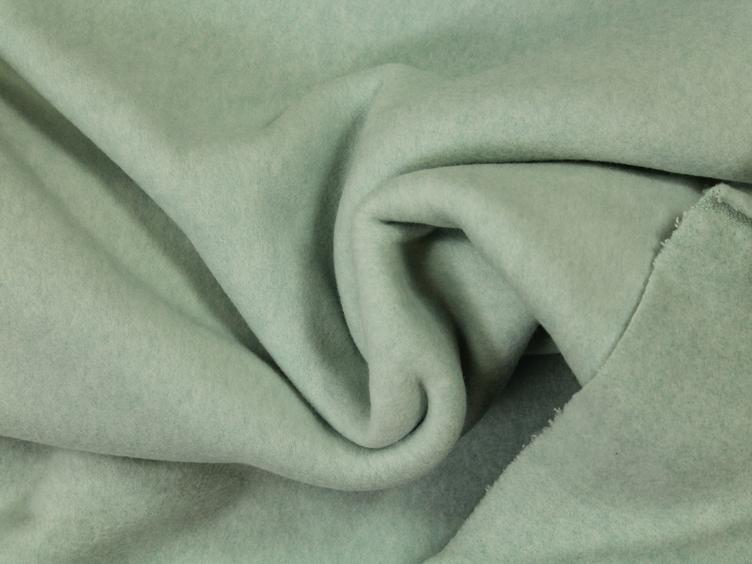 Organic Cotton Fleece mint melange - 0