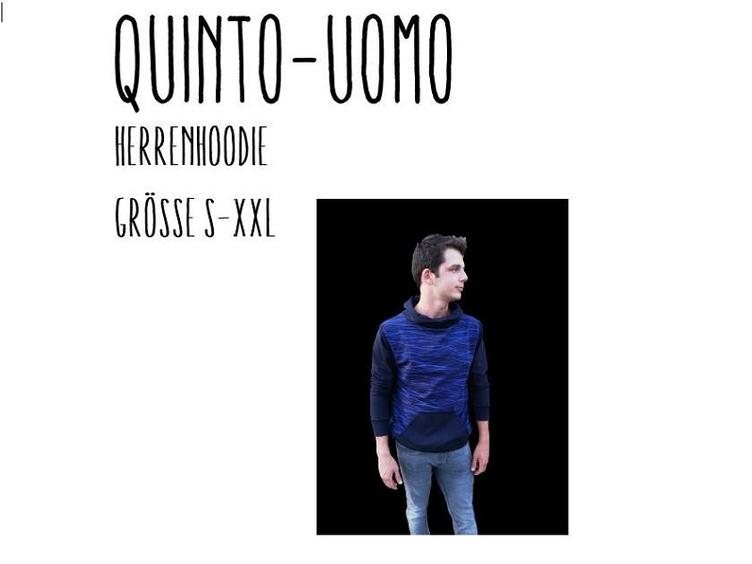 Quinto-Uomo Herrenhoodie S-XXL by Stoffherz Ebook