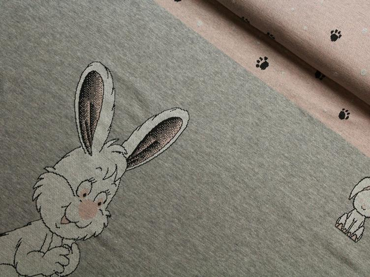 Rabbit Panel Jacquard