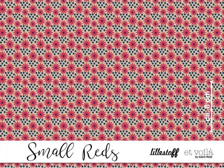 Small Reds, Jersey lillestoff