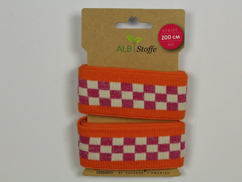 Stripe Me ICON orange/pink