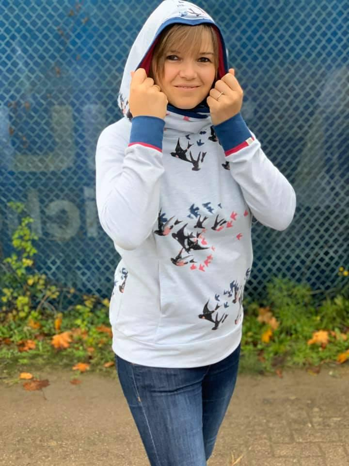 Trentaseiesimo Hoodie Donna Ebook by Stoffherz Grösse XS-XL - 31