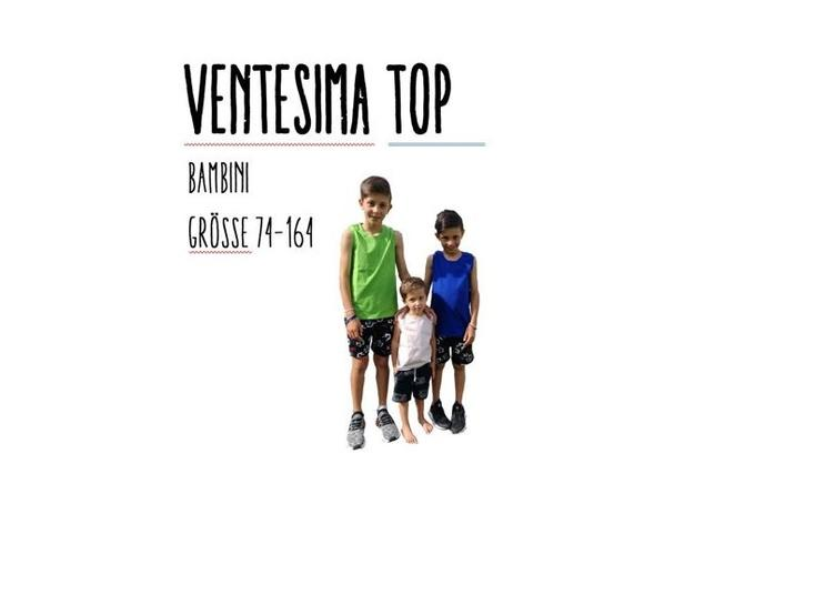 Ventesima Top Bambini Grösse 74-164 Ebook by Stoffherz