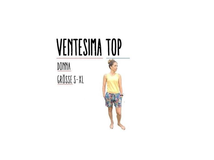 Ventesima Top Donna Grösse S-XL Ebook by Stoffherz